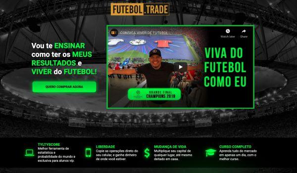 Futebol Trade: ganhe dinheiro apostando em jogos de futebol sem sair de casa